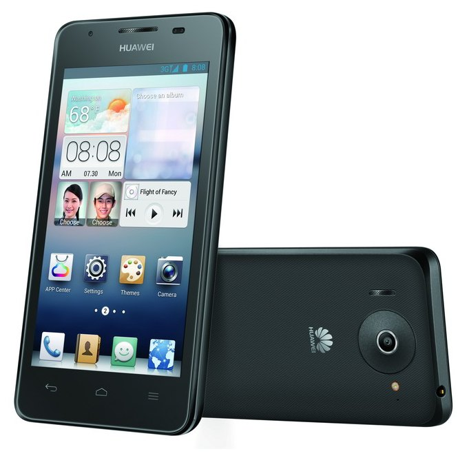 Huawei Ascend G510, Android OS, Black - SK distrib�cia