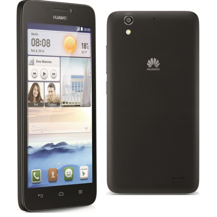 Huawei Ascend G630, Android OS, Black - SK distrib�cia