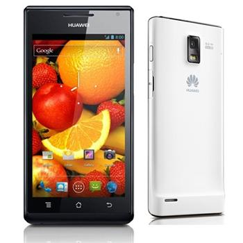Huawei Ascend P1, Android OS, Black/White