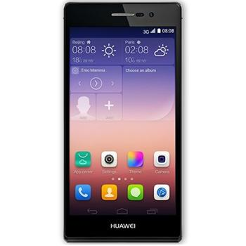 Huawei Ascend P7, Black - SK distrib�cia + Sygic GPS navig�cia na do�ivotie