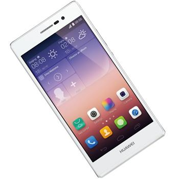 Huawei Ascend P7, White - SK distrib�cia + Sygic GPS navig�cia na do�ivotie