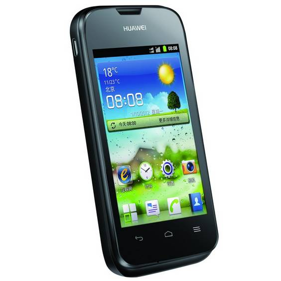 Huawei Ascend Y210, Android OS, Black - SK distrib�cia