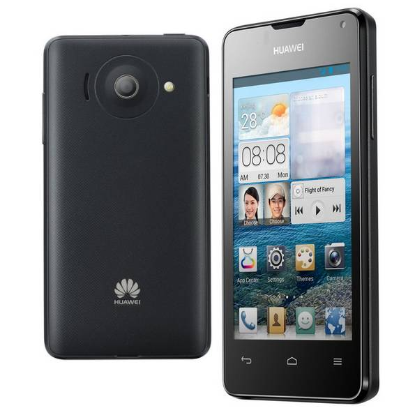 Huawei Ascend Y300, Android OS, Black - SK distrib�cia