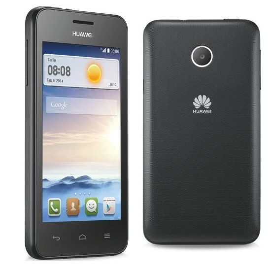 Huawei Ascend Y330, Android OS, Black - SK distrib�cia