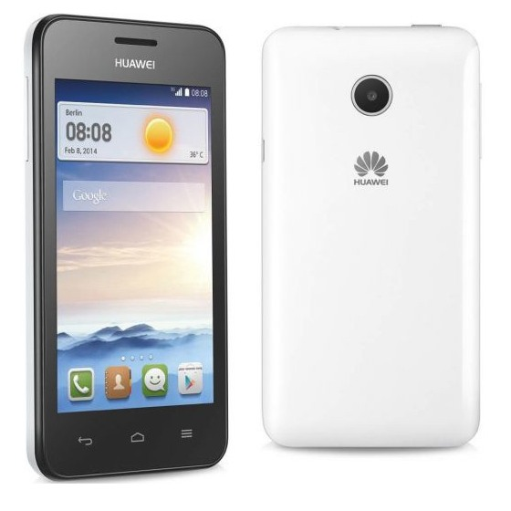 Huawei Ascend Y330, Android OS, White - SK distrib�cia