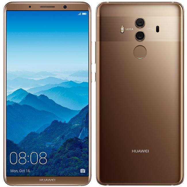 Huawei Mate 10 Pro, 6/128GB, Dual SIM | Brown, Trieda A+ - použité, záruka 12 mesiacov