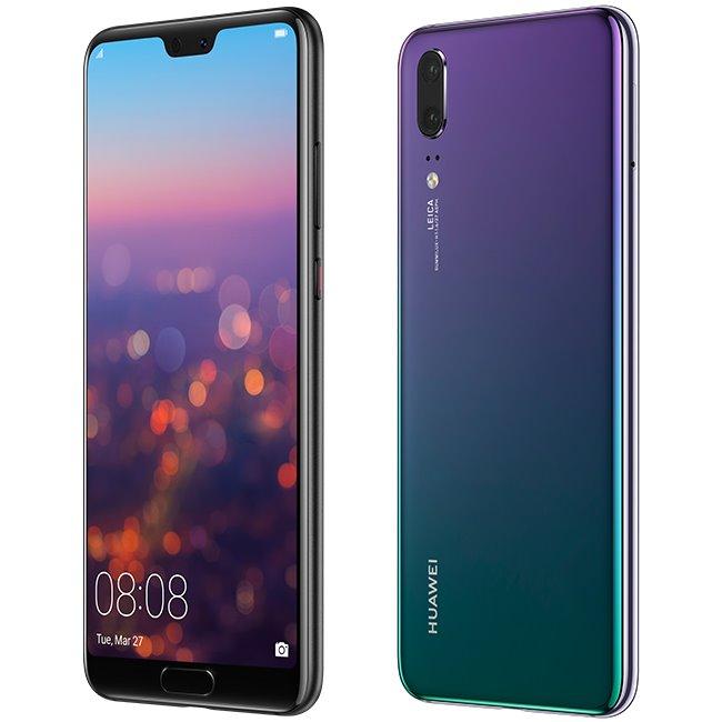 Huawei P20, Dual SIM | Purple - nový tovar, neotvorené balenie