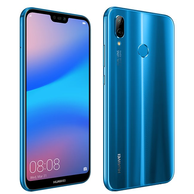 Huawei P20 Lite, Single SIM | Blue - nový tovar, neotvorené balenie