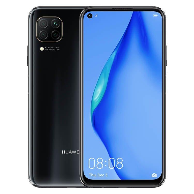 Huawei P40 Lite, 6/128GB, Dual SIM, Midnight Black - SK distribúcia