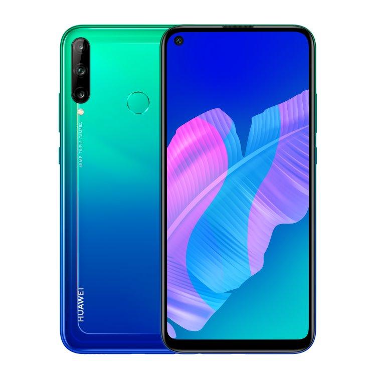 Huawei P40 Lite E, 4/64GB, Dual SIM, Aurora Blue - SK distribúcia