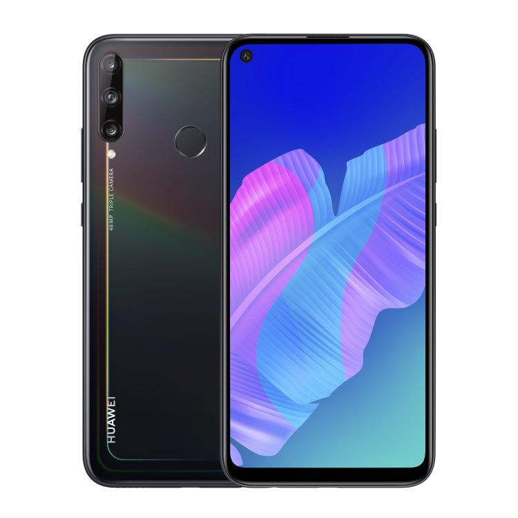 Huawei P40 Lite E, 4/64GB, Dual SIM, Midnight Black - SK distribúcia