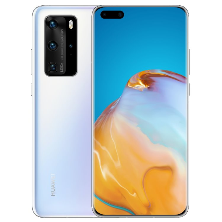 Huawei P40 Pro 5G, 8/256GB, Dual SIM, Ice White - SK distribúcia