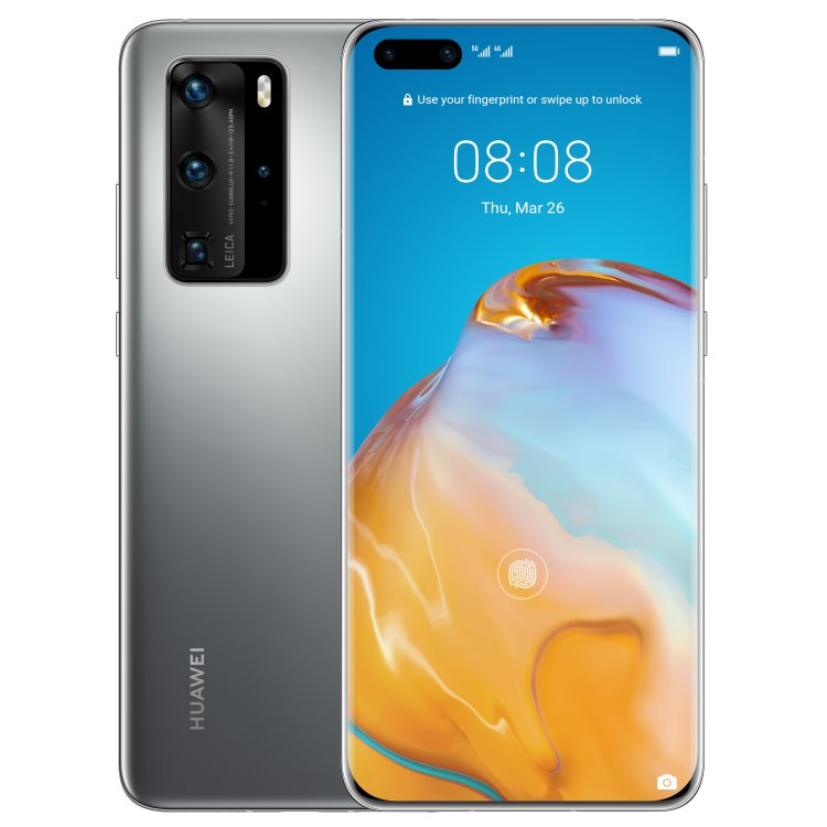 Huawei P40 Pro 5G, 8/256GB, Dual SIM, Silver Frost - SK distribúcia