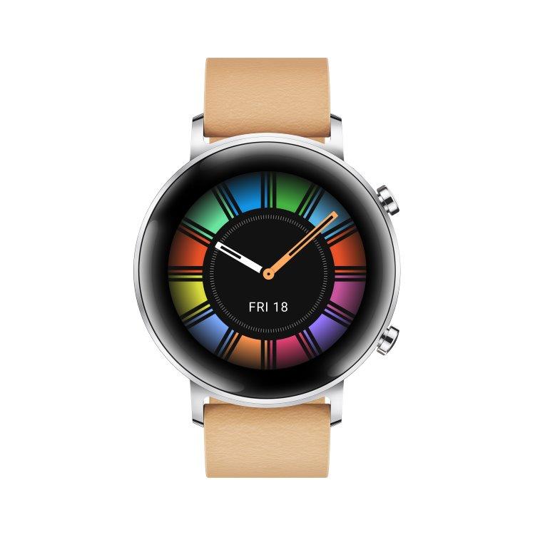 Huawei Watch GT2 Classic, 42mm, Gravel Biege