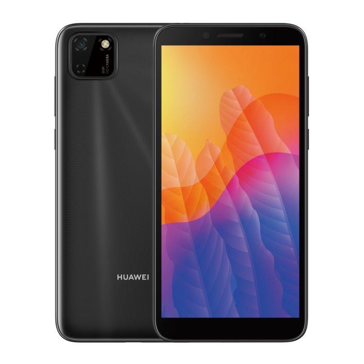 Huawei Y5p, Dual SIM, Midnight Black - SK distribúcia