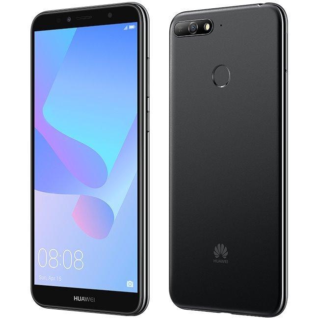Huawei Y6 2018, Single SIM | Black - nový tovar, neotvorené balenie