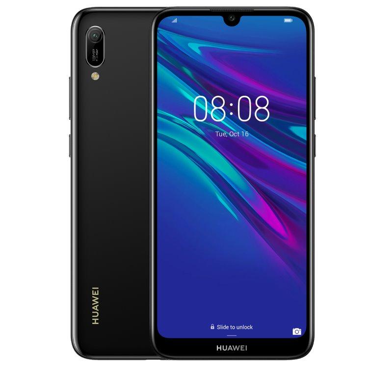 Huawei Y6 2019, Dual SIM, Midnight Black - SK distribúcia