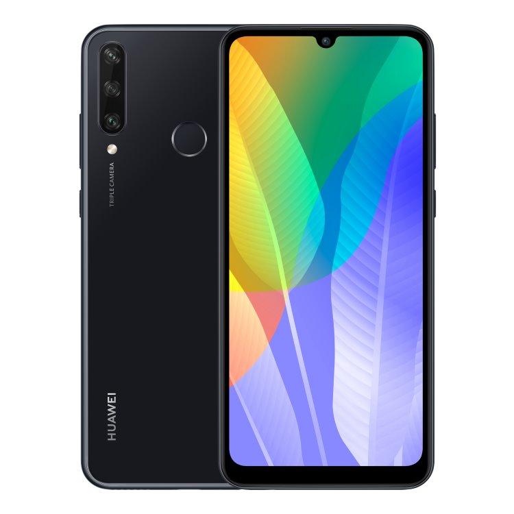 Huawei Y6p, midnight black