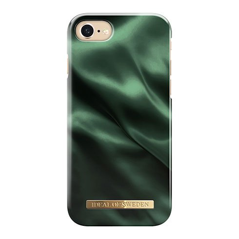 iDeal Fashion Case iPhone 8/7/6/6S/SE Emerald Satin IDFCAW19-I7-154