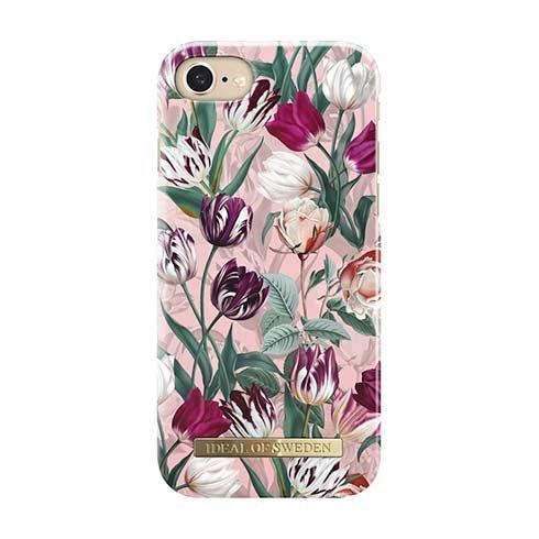 iDeal Fashion Case iPhone 8/7/6/6S/ SE Vintage Tulips IDFCSU18-I7-89