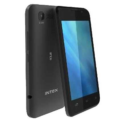 Intex Aqua 3G, Dual Sim, Black