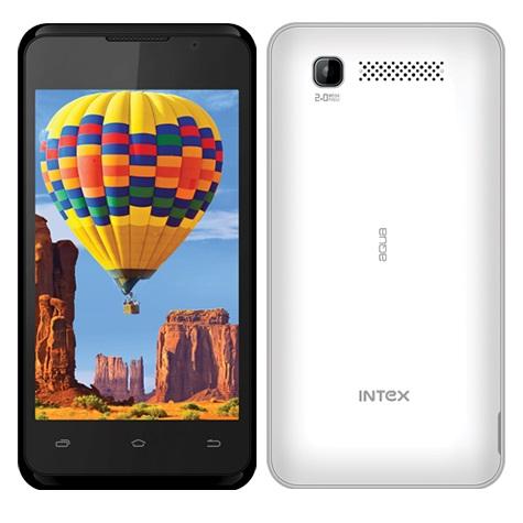 Intex Aqua 3G, Dual Sim, White