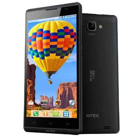 Intex Aqua I5 HD, Dual Sim, Black