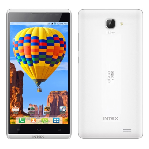 Intex Aqua I5 HD, Dual Sim, White
