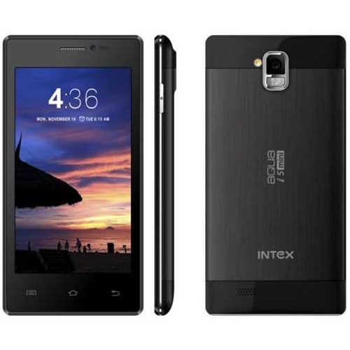 Intex Aqua I5 Mini, Dual Sim, Black