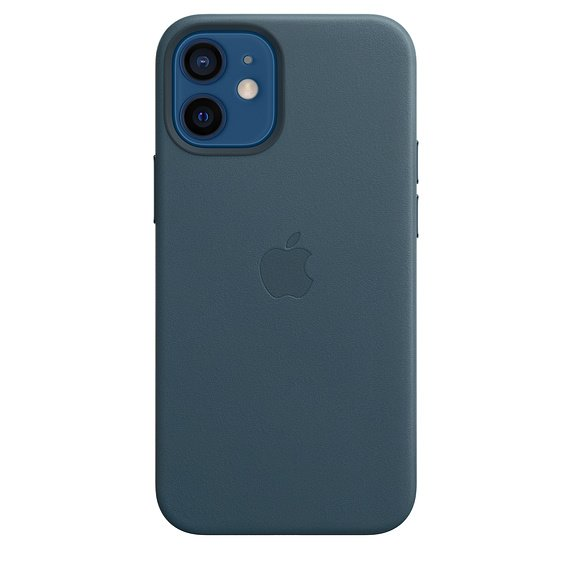 Apple iPhone 12 | 12 Pro Leather Case with MagSafe, baltic blue