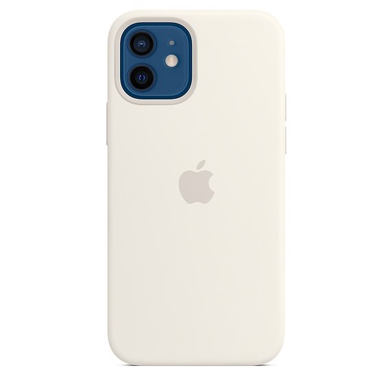 Apple iPhone 12 Pro Max Silicone Case with MagSafe, white MHLE3ZM/A