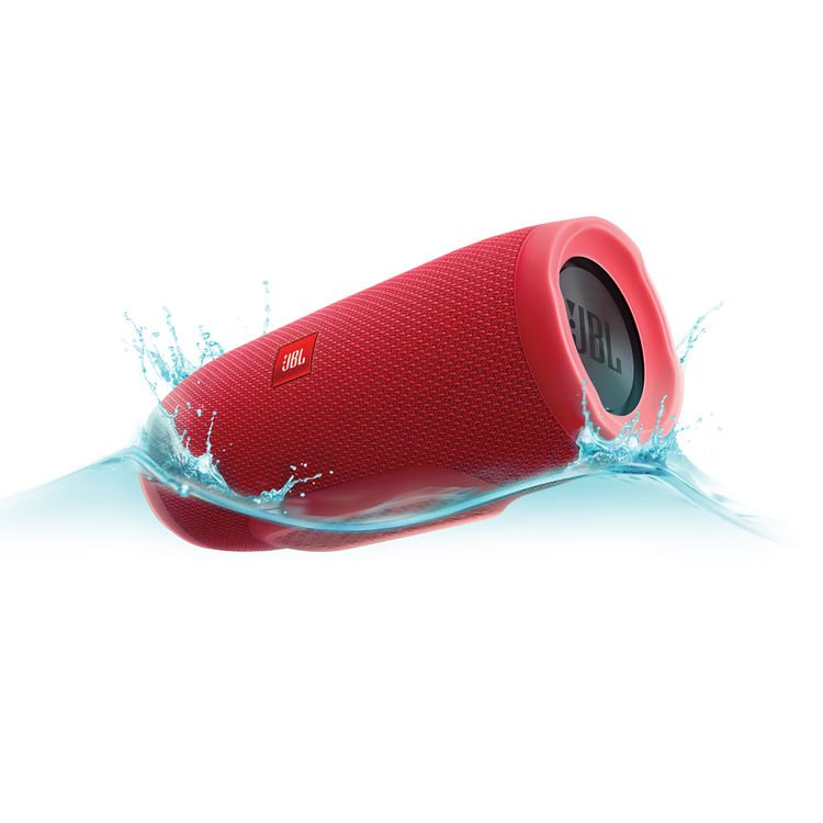 JBL Charge 3, prenosný bluetooth reproduktor, Red