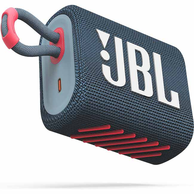JBL GO 3, Blue coral JBL GO3BLUP