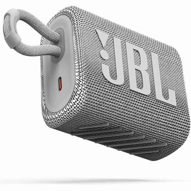JBL GO 3, White