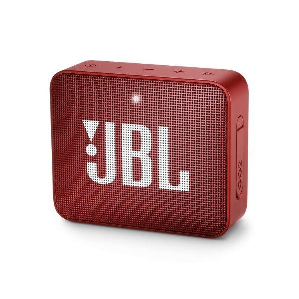 JBL Go 2, red
