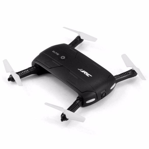 JJRC H37 Elfie Drone - selfie dron s kamerou - 1280 x 720 pixelov, Black