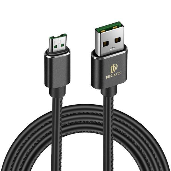 Kábel Dux Ducis K-Max micro-USB/ USB, Black