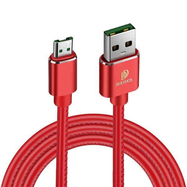 Kábel Dux Ducis K-Max micro-USB/ USB, Red