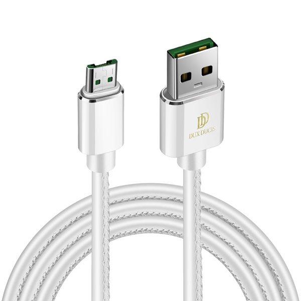 Kábel Dux Ducis K-Max micro-USB/ USB, White