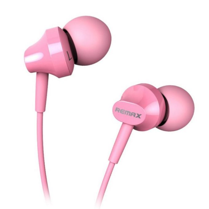 K�blov� Stereo Headset REMAX RM501 s 3.5mm jackom, Pink