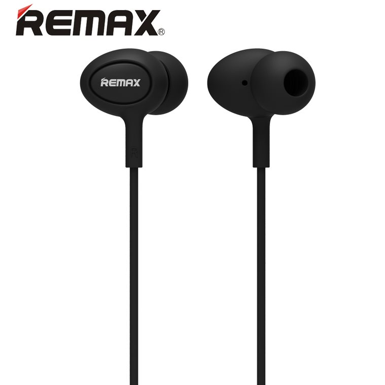 K�blov� Stereo Headset REMAX RM515 s 3.5mm jackom, Black