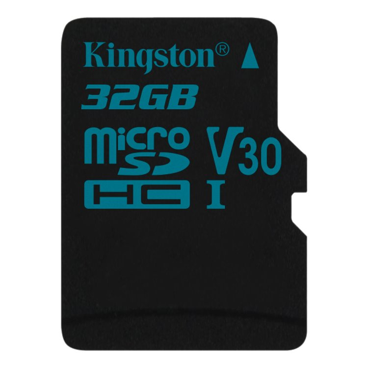 Kingston Canvas Go Micro SDHC 32GB, UHS-I U3, Class 10 - rýchlosť 90/45 MB/s (SDCG2/32GBSP)
