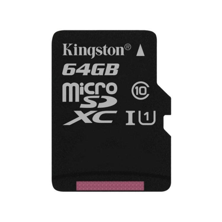 Kingston Canvas SeIect Micro SDXC 64GB, UHS-I U1, Class 10 - rýchlosť 80 MB/s (SDCS/64GBSP)