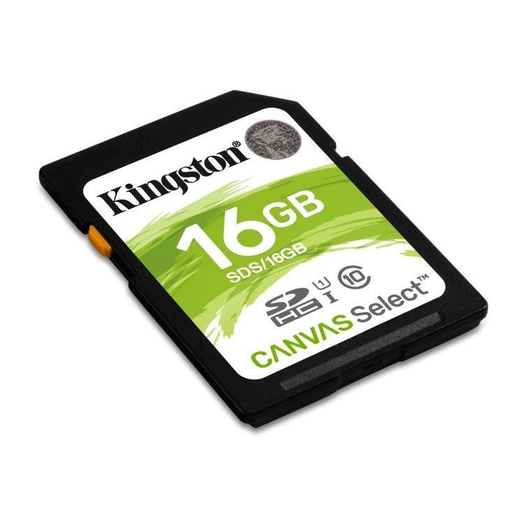 Kingston SDHC 16GB Class10 UHS-I (r80MB,w10MB) SDS/16GB