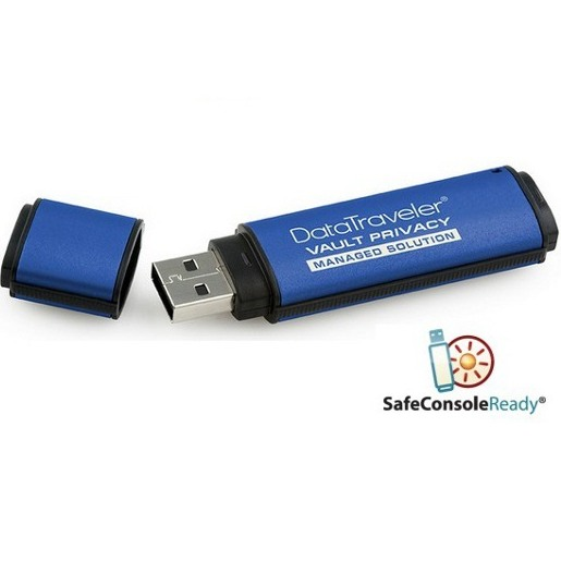 Kingston DT Vault Privacy Managed SafeCons - 64GB | r�chlos� a� 24MB/s