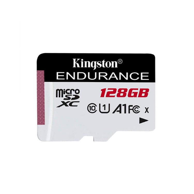 Kingston High Endurance Micro SDXC 128GB, UHS-I U1, Class 10 - rýchlosť 95 MB/s (SDCE/128GB)