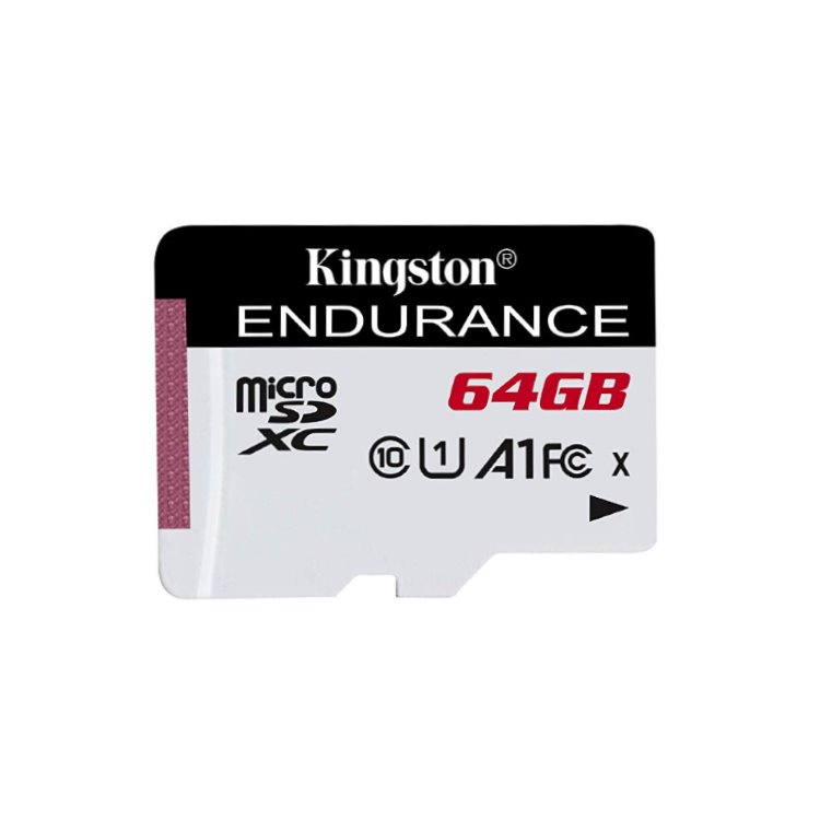 Kingston High Endurance Micro SDXC 64GB, UHS-I U1, Class 10 - rýchlosť 95 MB/s (SDCE/64GB)