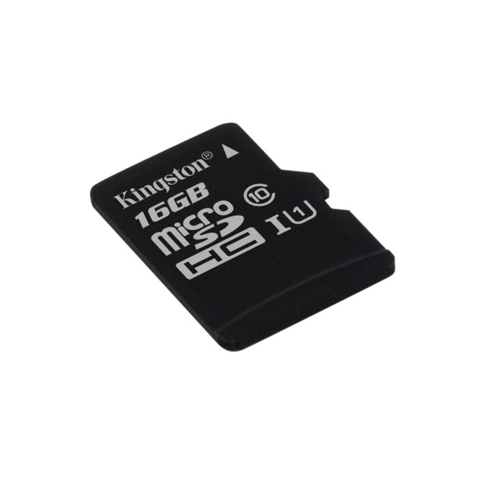 Kingston Micro SDHC 16GB, UHS U1, Class 10 - r�chlos� 45 MB/s