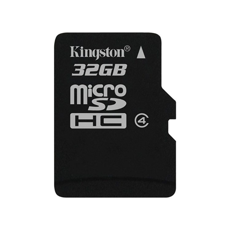 Kingston Micro SDHC 32GB, Class 4 (SDC4/32GBSP)