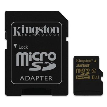 Kingston Micro SDHC 32GB, UHS-I, Class 10 - r�chlos� 90 MB/s